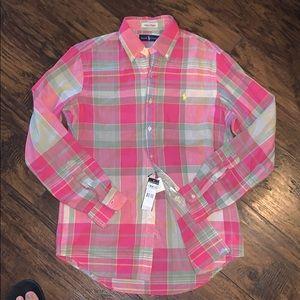 Polo Ralph Lauren plaid Classic Fit  Madras Shirt